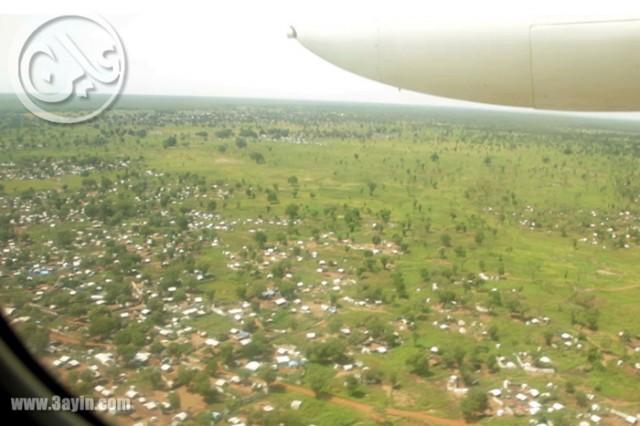 نزاع الاراضي في النيل الازرق