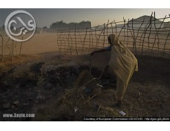 البرد يقتل 10 اشخاص بينهم  اطفال فروا من محرقة الدعم السريع في دارفور