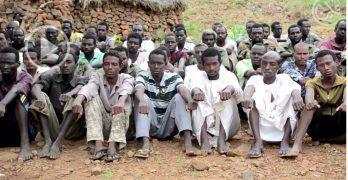 اوضاع اسرى الجيش السوداني لدى الحركة الشعبية