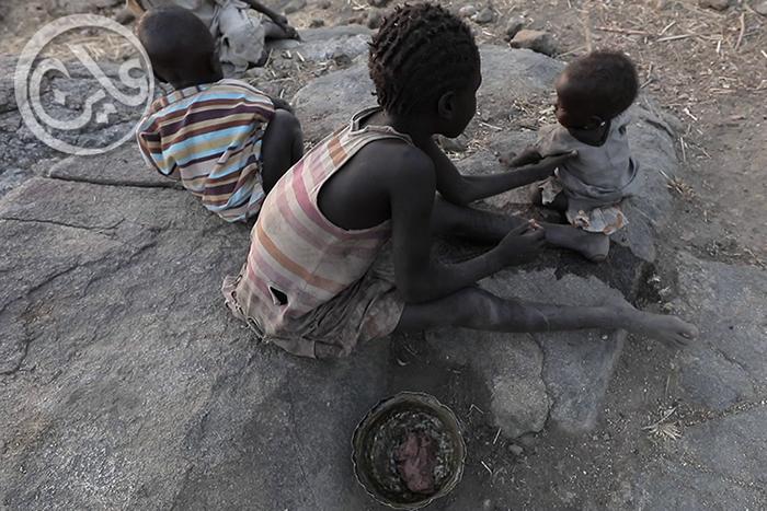 أطفال في جبال النوبة