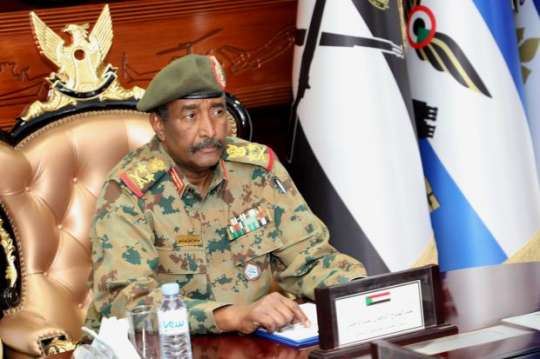 Transitional military council head, General Abdel Fattah al-Burhan