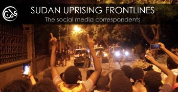 Sudan uprising frontlines, the social media correspondents