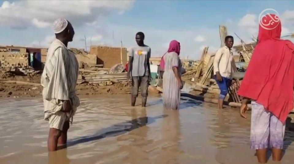 الفيضانات في السودان تحد جديد لحكومة حمدوك