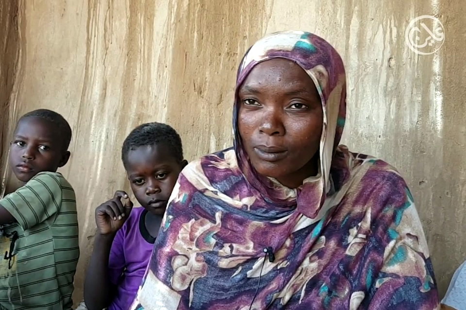 Amna Nurein Mohamed, an internally displaced person in North Darfur State