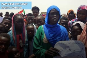 No food, no security – the plight of North Darfur IDPs