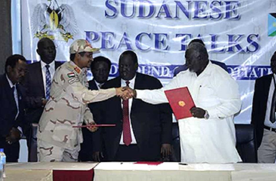 على خلفية اتفاقية تقديم المساعدات الإنسانية ووقف العدائيات في منطقتي النيل الأزرق و جنوب كردفان