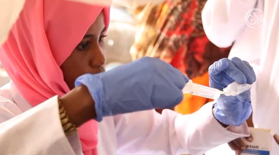 تجاوزات في حصص توزيع لقاحات تطعيم الأطفال بجنوب دارفور