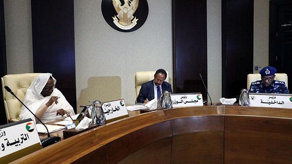 الحكومة السودانية تتوعد بحسم تحركات حزب المؤتمر الوطني المحلول