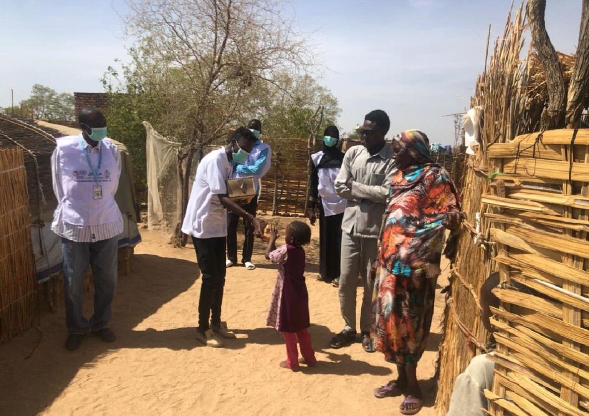 """دعم أممي لمواجهة """"كورونا"""" في مخيمات النازحين بدارفور"""