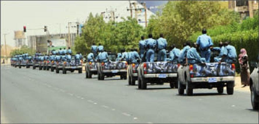 تشديد أمني في العاصمة السودانية يسبق دعوات واسعة للتظاهر  بالثلاثاء