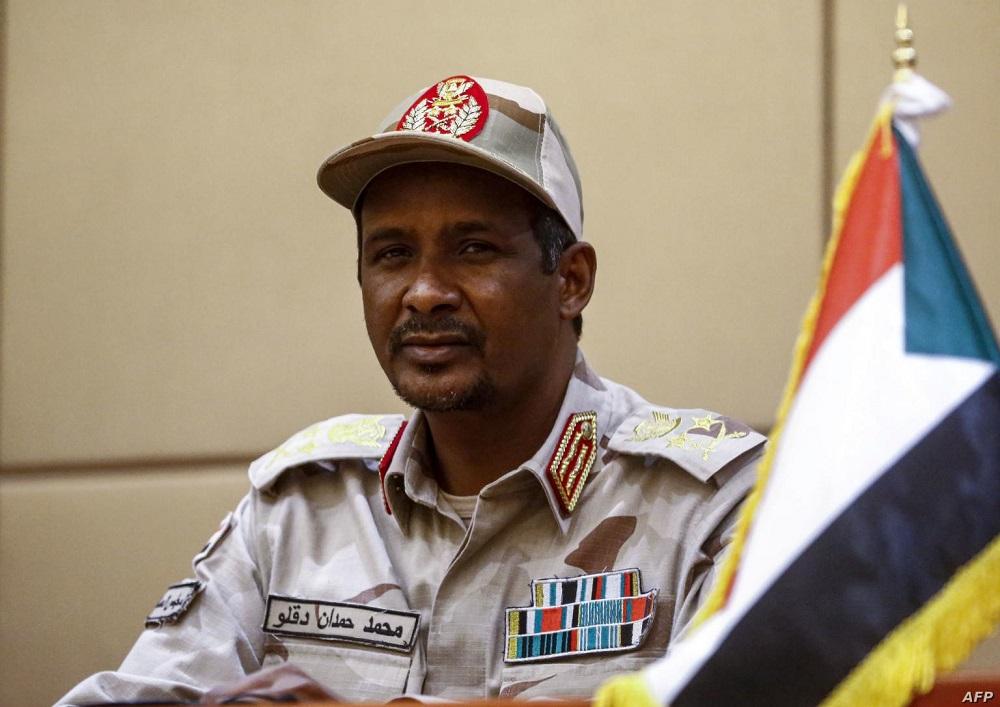 """السودان: """"حميدتي"""" يبدأ زيارة مفاجئة لإثيوبيا ويلتقي مسؤولين افارقة"""
