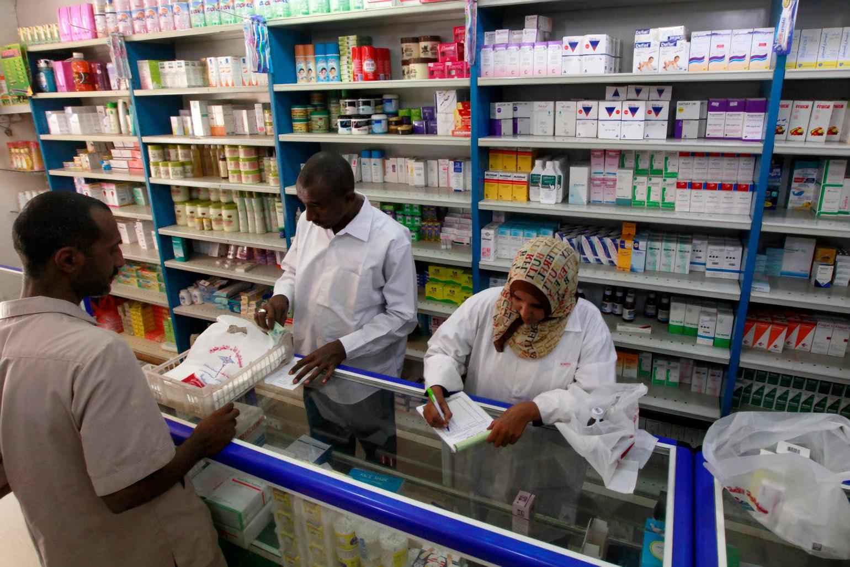 اضراب صيادلة السودان احتجاجاً على إنعدام الدواء