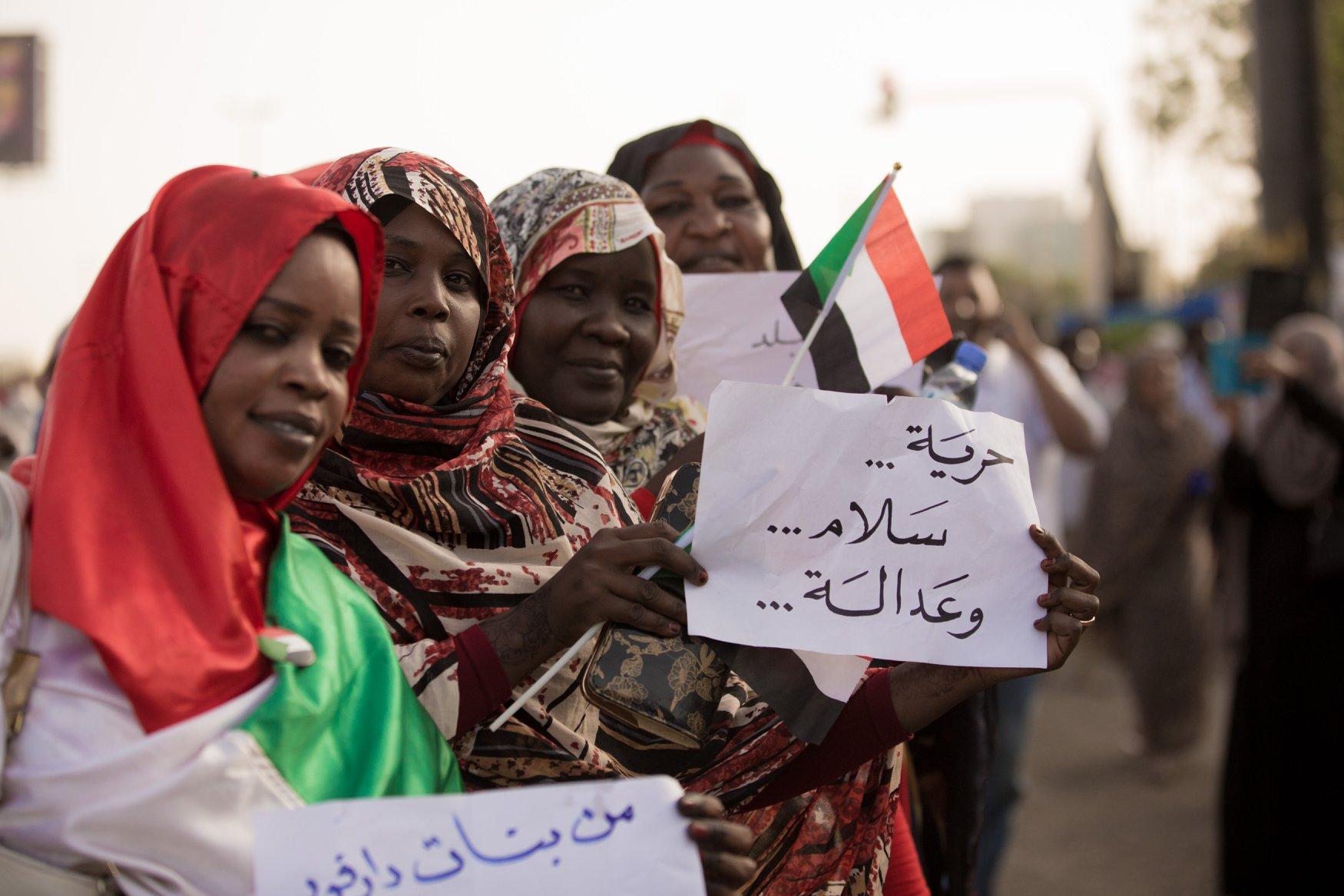"""رفع إعتصام بلدة """"مورني"""" بعد استجابة حكومة غرب دارفور علي مطالب المعتصمين"""