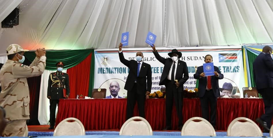 اتفاق السلام جوبا 31 اغسطس