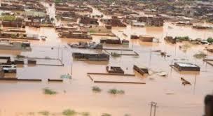 Heavy flooding in Khartoum