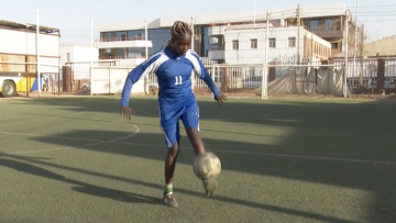 Al-Tahadi Player Ranya Abubakar Babo (BBC)