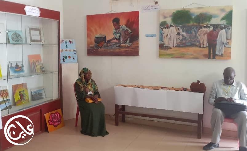 نيالا : بعد 18 عام من حرب دارفور إقامة أول معرض تشكيلي